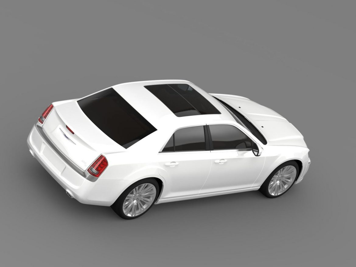 chrysler 300c 2013 3d model 3ds max fbx c4d lwo ma mb hrc xsi obj 205545