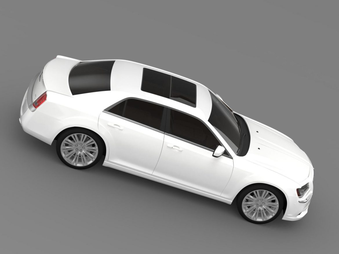 chrysler 300c 2013 3d model 3ds max fbx c4d lwo ma mb hrc xsi obj 205546