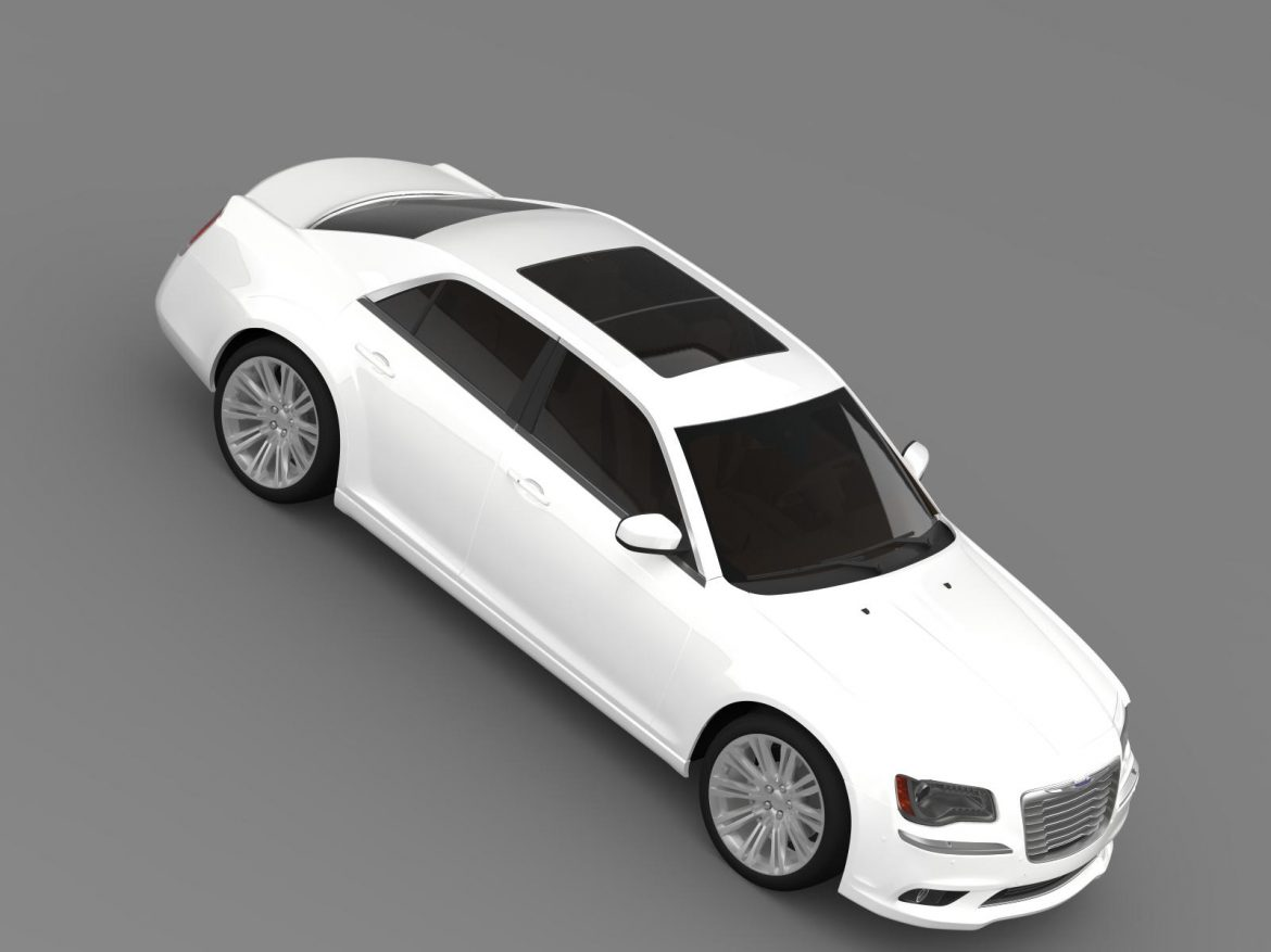 chrysler 300c 2013 3d model 3ds max fbx c4d lwo ma mb hrc xsi obj 205547