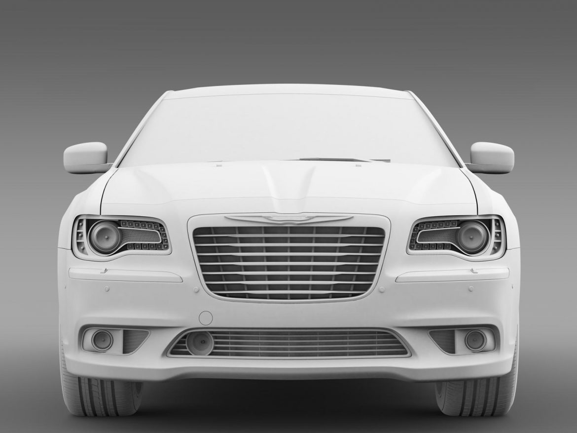 chrysler 300c 2013 3d model 3ds max fbx c4d lwo ma mb hrc xsi obj 205548