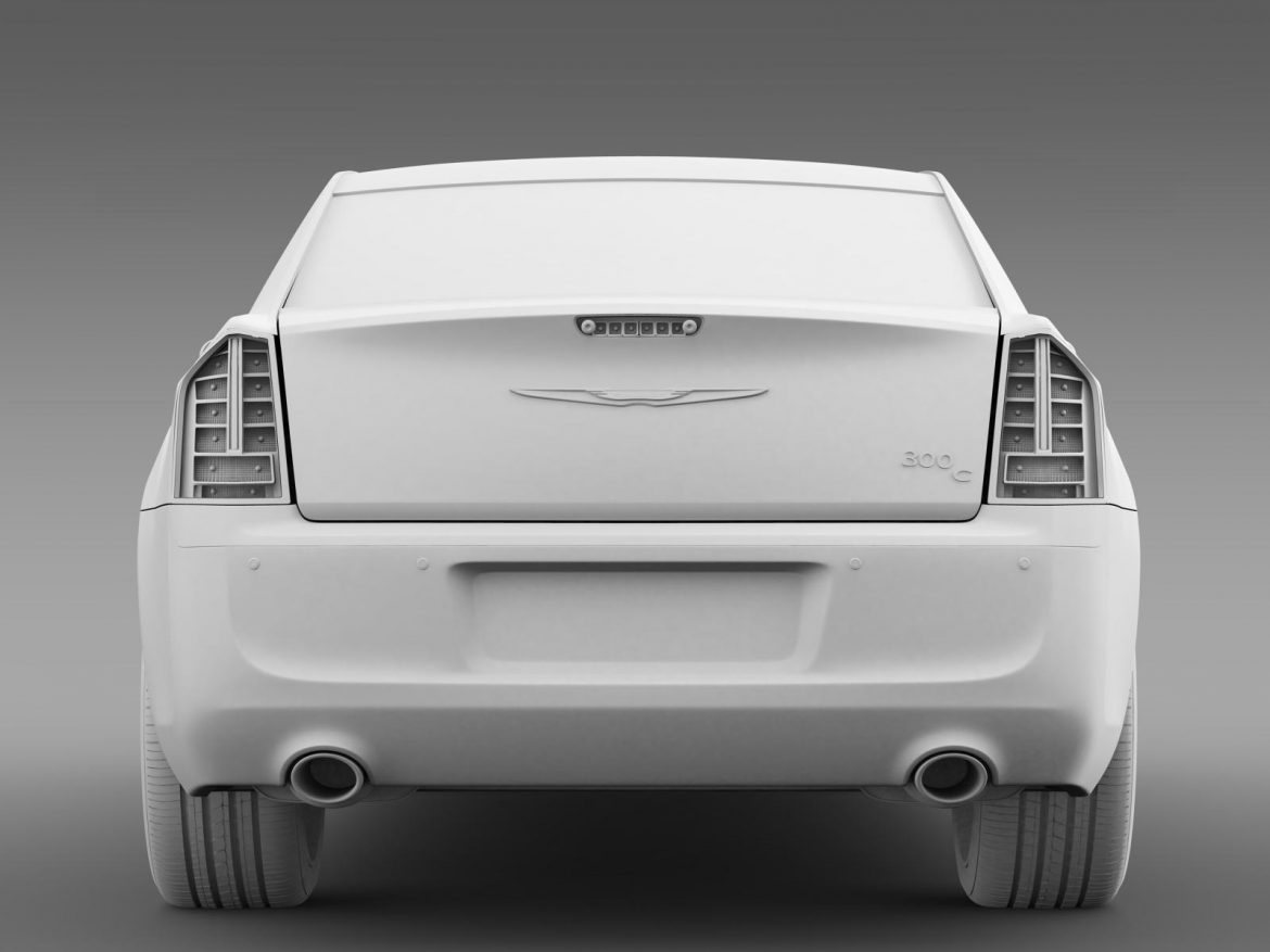 chrysler 300c 2013 3d model 3ds max fbx c4d lwo ma mb hrc xsi obj 205549