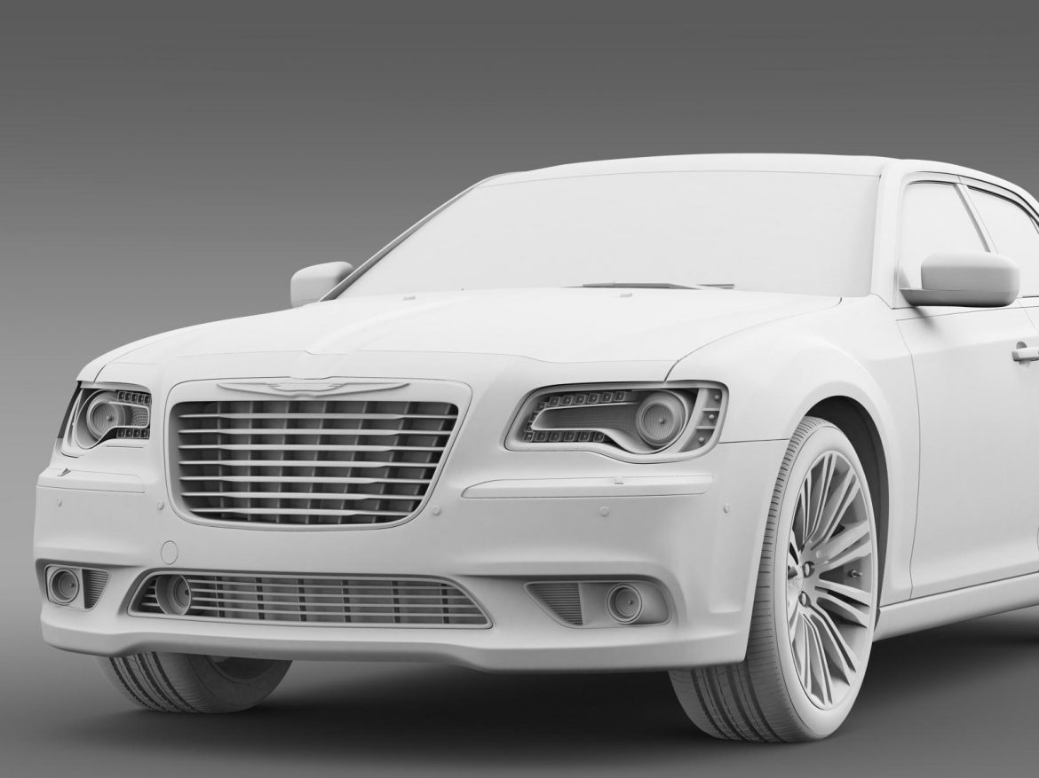 chrysler 300c 2013 3d model 3ds max fbx c4d lwo ma mb hrc xsi obj 205550
