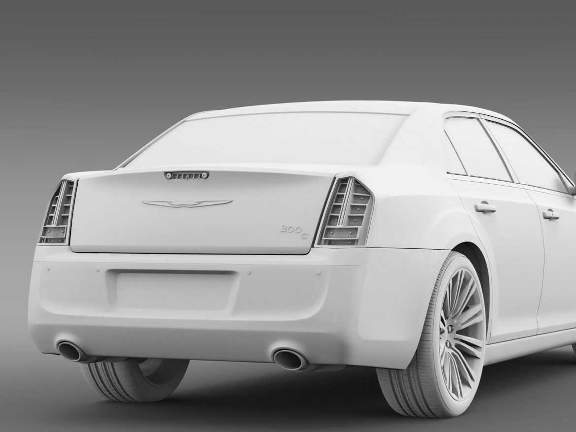 chrysler 300c 2013 3d model 3ds max fbx c4d lwo ma mb hrc xsi obj 205551