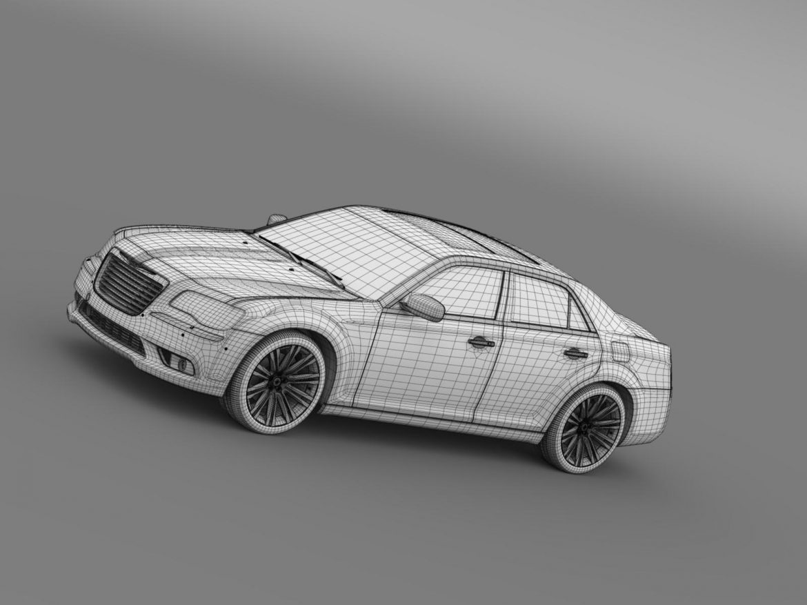 chrysler 300c 2013 3d model 3ds max fbx c4d lwo ma mb hrc xsi obj 205552