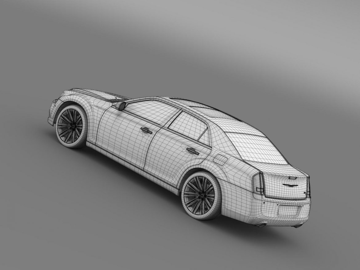 chrysler 300c 2013 3d model 3ds max fbx c4d lwo ma mb hrc xsi obj 205554