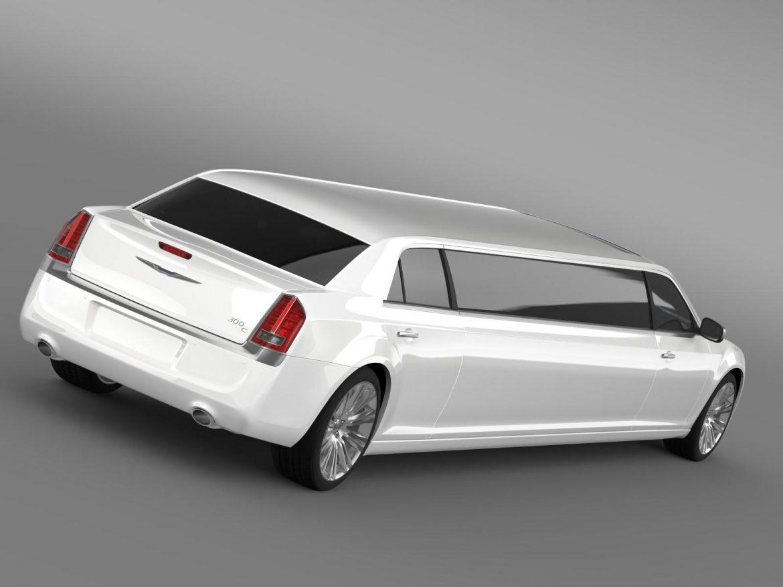 chrysler 300c 2013 limousine 3d model 3ds max fbx c4d lwo ma mb hrc xsi obj 205613