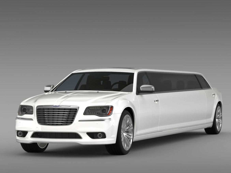 chrysler 300c 2013 limousine 3d model 3ds max fbx c4d lwo ma mb hrc xsi obj 205614