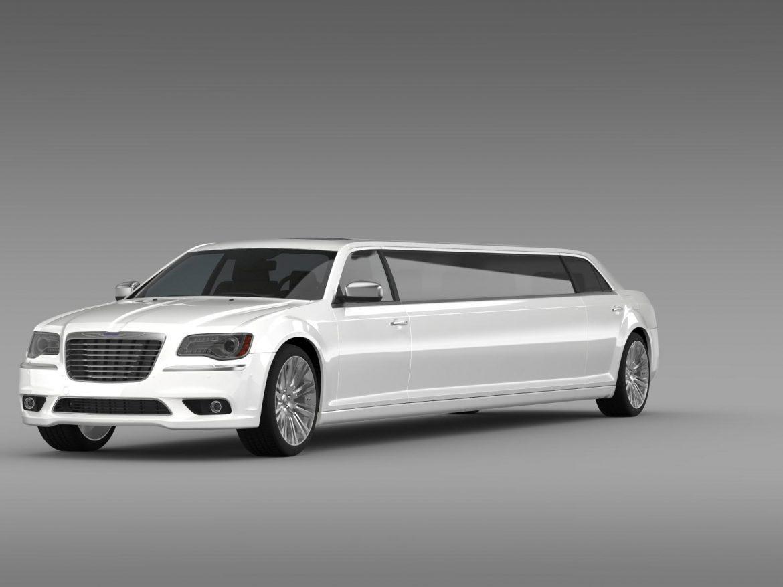 chrysler 300c 2013 limousine 3d model 3ds max fbx c4d lwo ma mb hrc xsi obj 205615
