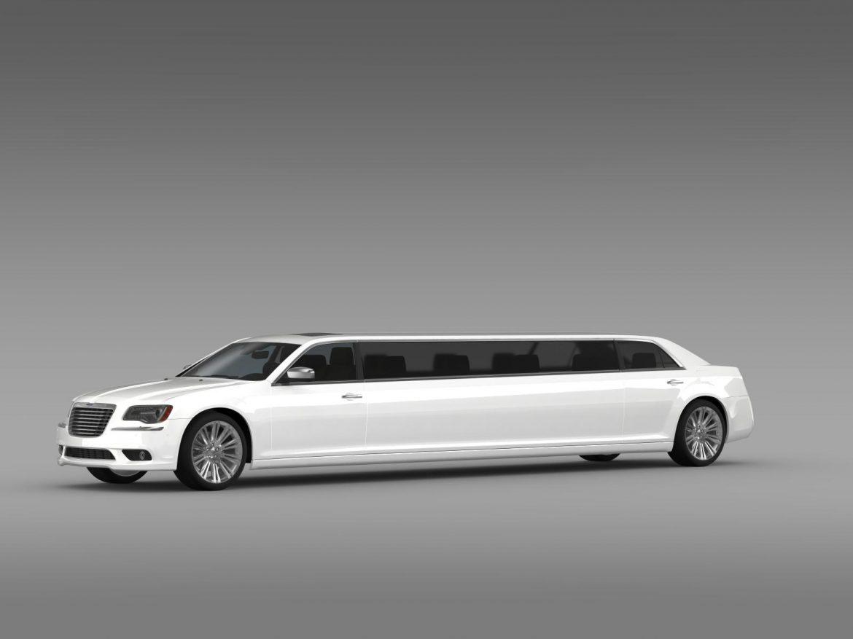 chrysler 300c 2013 limousine 3d model 3ds max fbx c4d lwo ma mb hrc xsi obj 205616