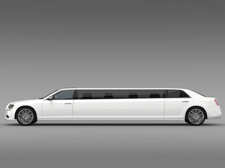 chrysler 300c 2013 limousine 3d model 3ds max fbx c4d lwo ma mb hrc xsi obj 205617
