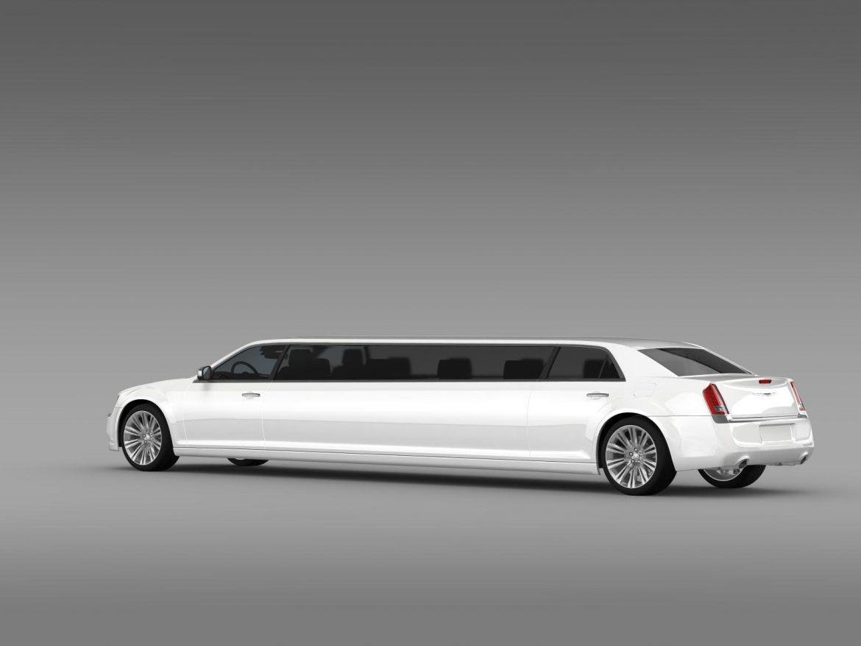 chrysler 300c 2013 limousine 3d model 3ds max fbx c4d lwo ma mb hrc xsi obj 205618