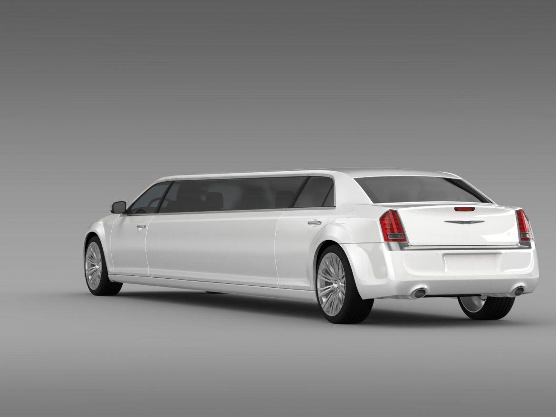 chrysler 300c 2013 limousine 3d model 3ds max fbx c4d lwo ma mb hrc xsi obj 205619