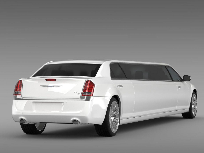chrysler 300c 2013 limousine 3d model 3ds max fbx c4d lwo ma mb hrc xsi obj 205620