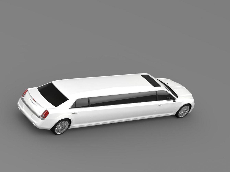 chrysler 300c 2013 limousine 3d model 3ds max fbx c4d lwo ma mb hrc xsi obj 205621