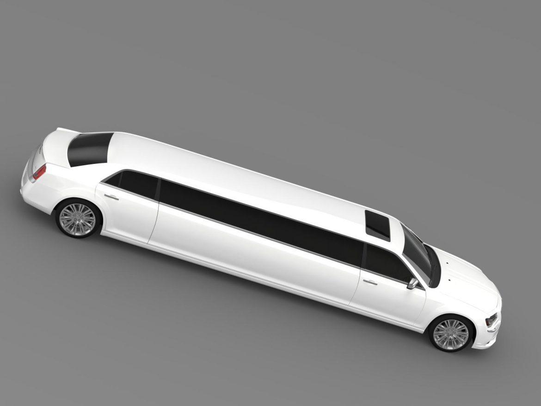 chrysler 300c 2013 limousine 3d model 3ds max fbx c4d lwo ma mb hrc xsi obj 205622