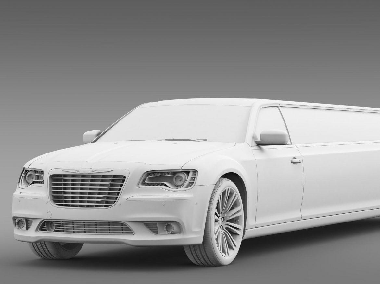 chrysler 300c 2013 limousine 3d model 3ds max fbx c4d lwo ma mb hrc xsi obj 205625