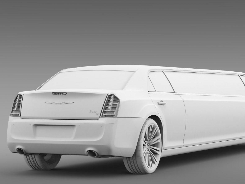chrysler 300c 2013 limousine 3d model 3ds max fbx c4d lwo ma mb hrc xsi obj 205626