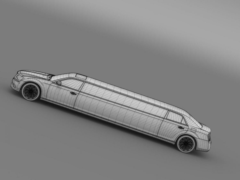 chrysler 300c 2013 limousine 3d model 3ds max fbx c4d lwo ma mb hrc xsi obj 205628