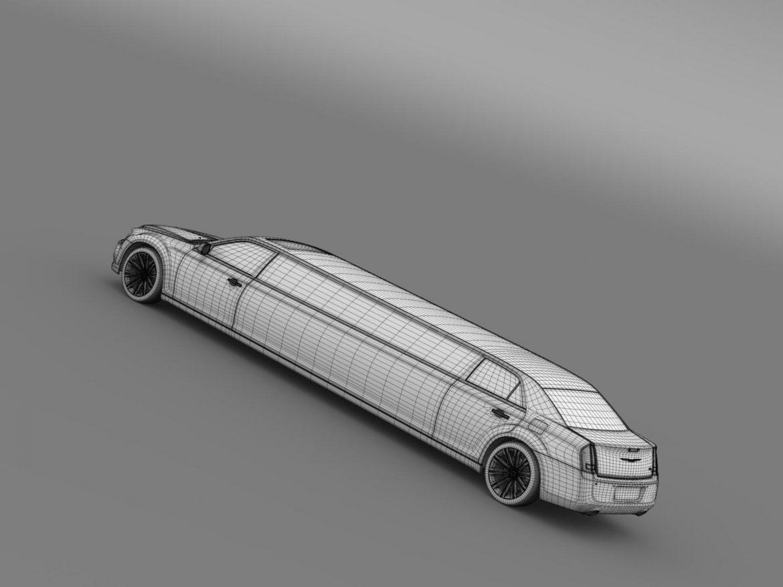 chrysler 300c 2013 limousine 3d model 3ds max fbx c4d lwo ma mb hrc xsi obj 205629