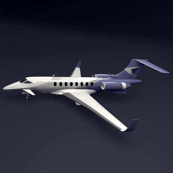 Private jet aircraft concept ( 72.21KB jpg by futurex3d )