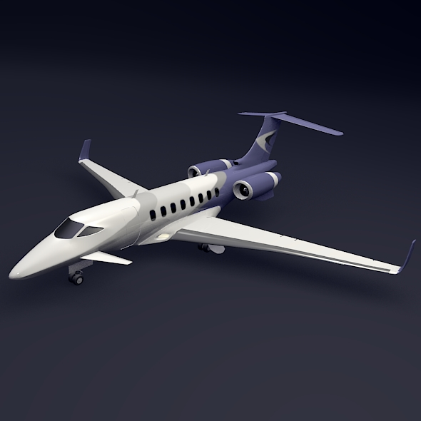 private jet aircraft concept 3d model 3ds fbx blend dae lwo obj 205703