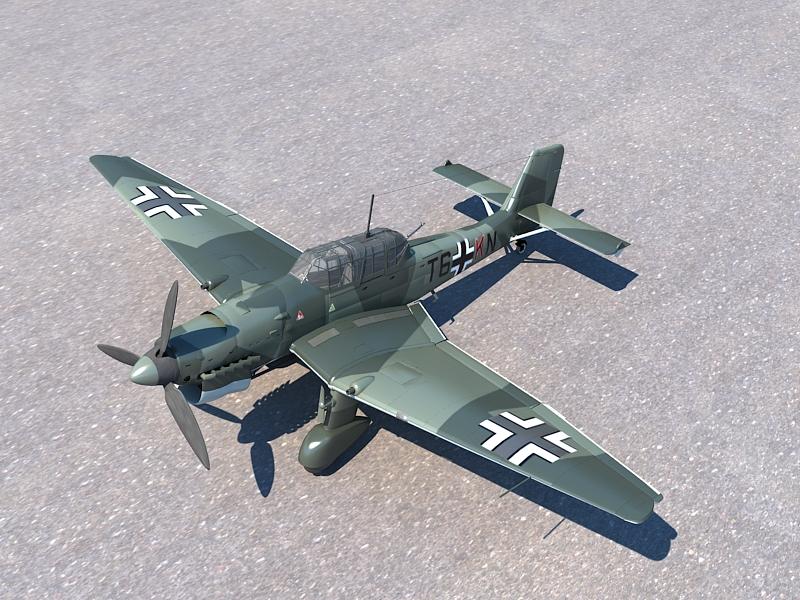 Junkers Ju 87 ( 414.01KB jpg by S.E )