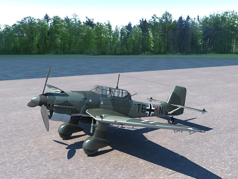 Junkers Ju 87 ( 366.6KB jpg by S.E )