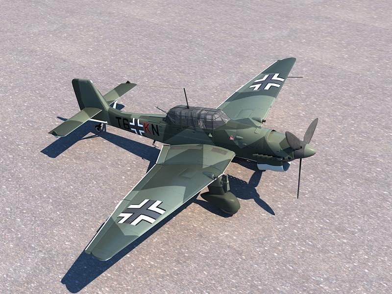 Junkers Ju 87 ( 407.16KB jpg by S.E )