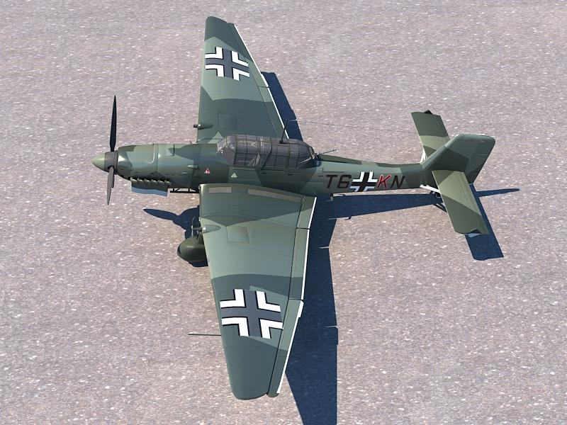 Junkers Ju 87 ( 412.98KB jpg by S.E )