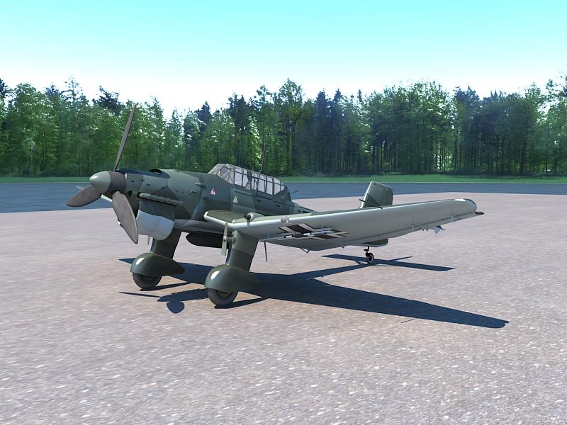 Junkers Ju 87 ( 348.79KB jpg by S.E )