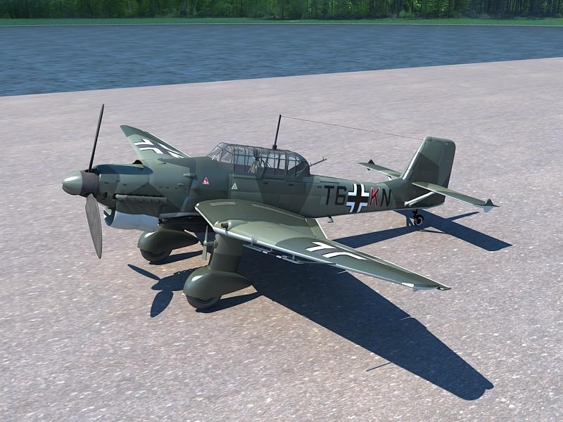 Junkers Ju 87 ( 370.51KB jpg by S.E )