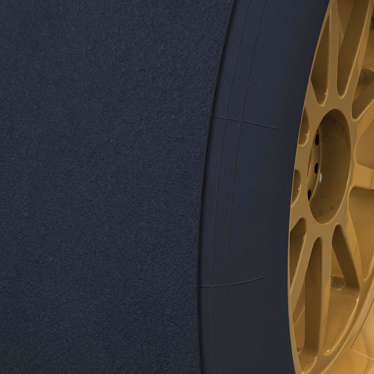 18 inches front tyre 3d model 3ds max fbx c4d ma mb obj 205728
