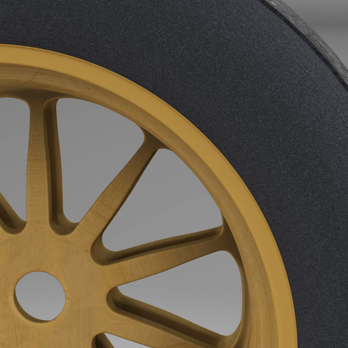 18 inches front tyre 3d model 3ds max fbx c4d ma mb obj 205731