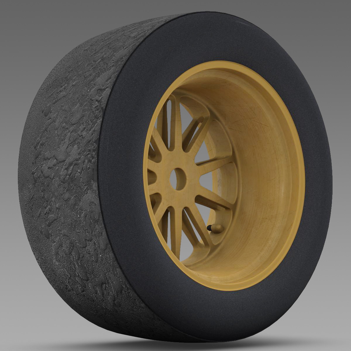 18 inches front tyre 3d model 3ds max fbx c4d ma mb obj 205732