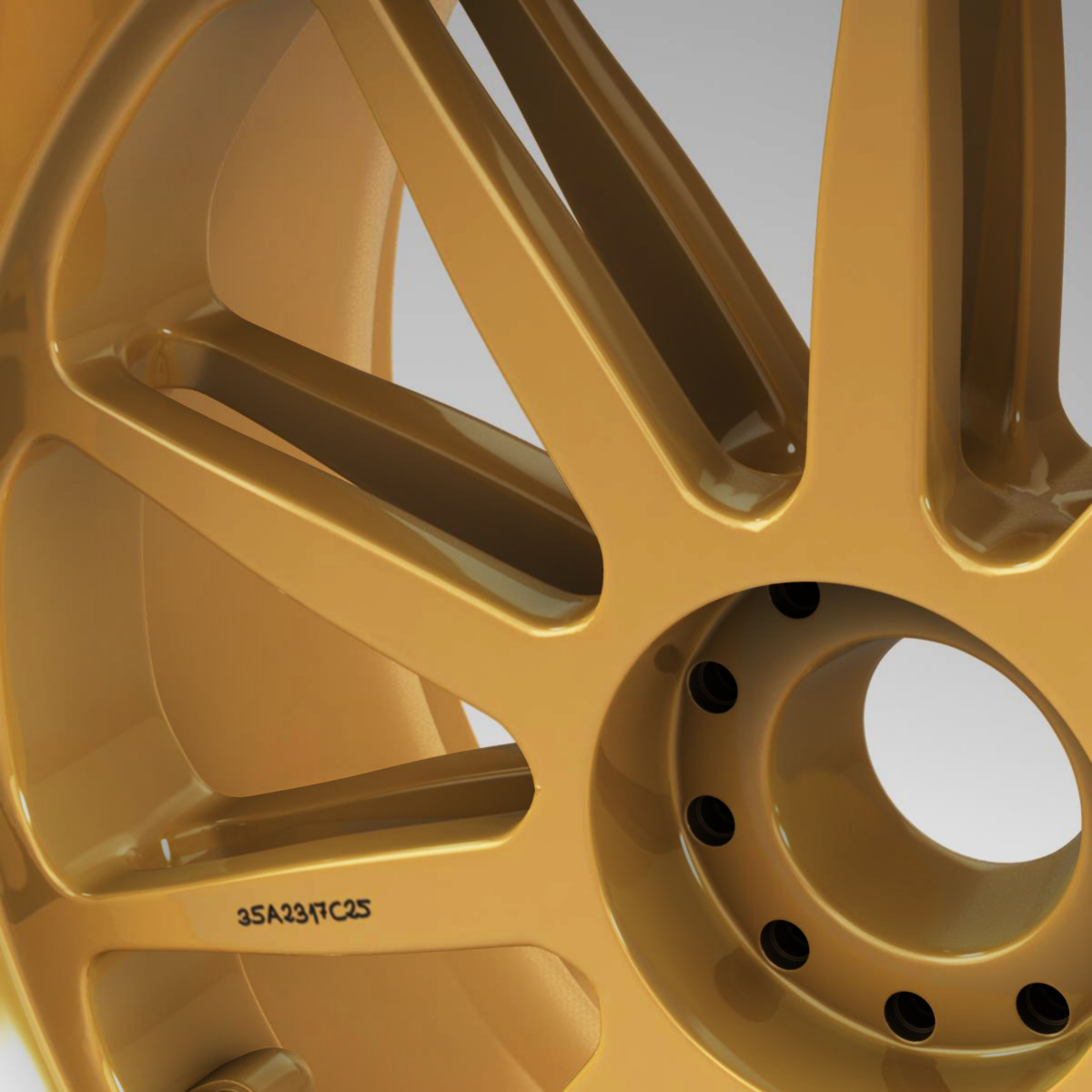 18 inches front tyre 3d model 3ds max fbx c4d ma mb obj 205733