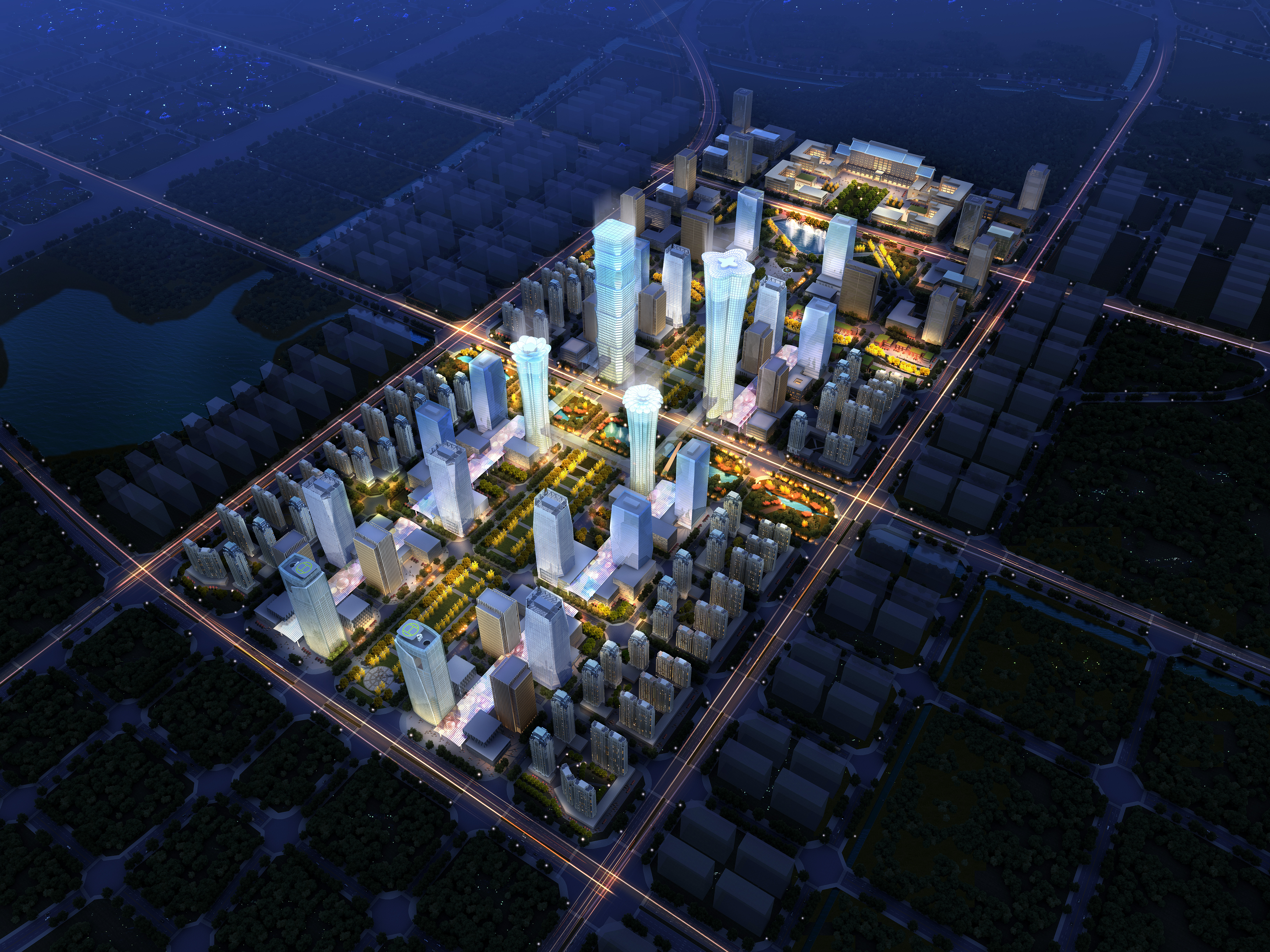 city planning 020 3d model max 205790