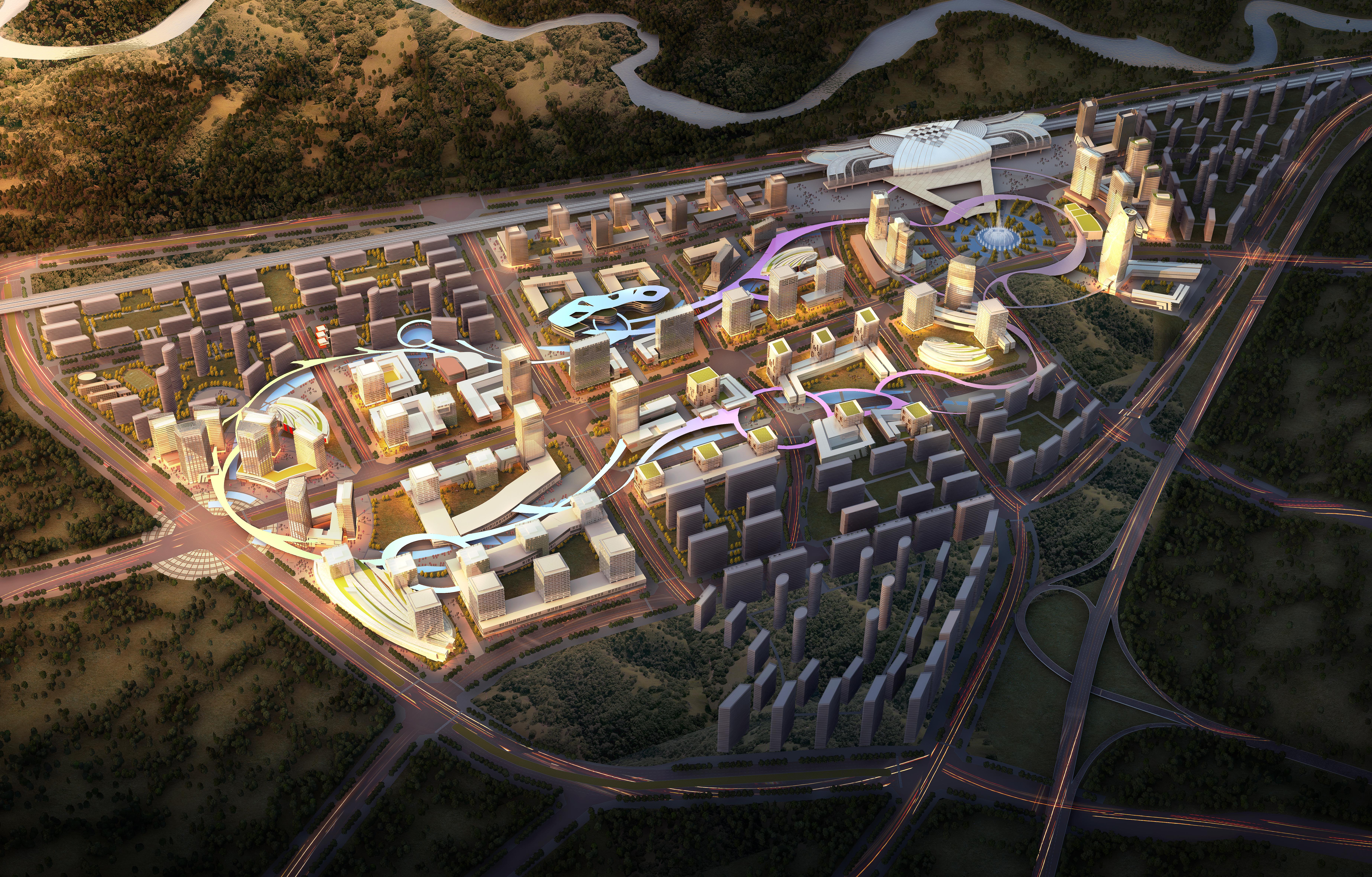 şəhər planlaşdırma 022 3d model max 205803