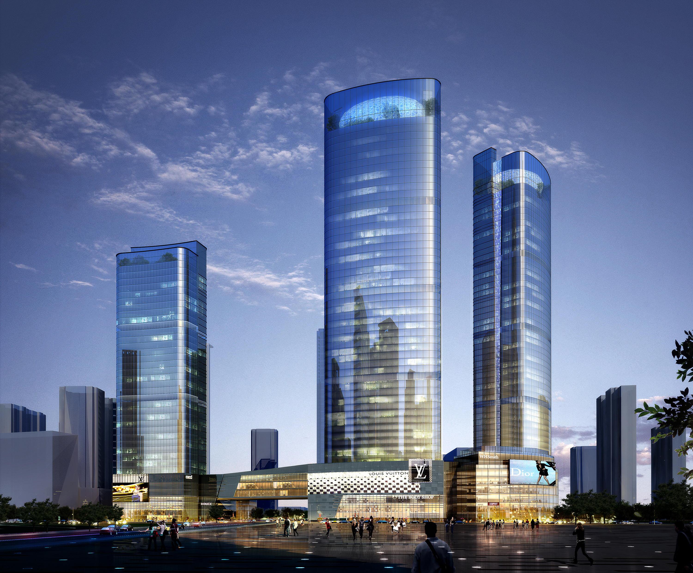 Skyscraper business center 002 ( 1240.62KB jpg by Abe_makoto )