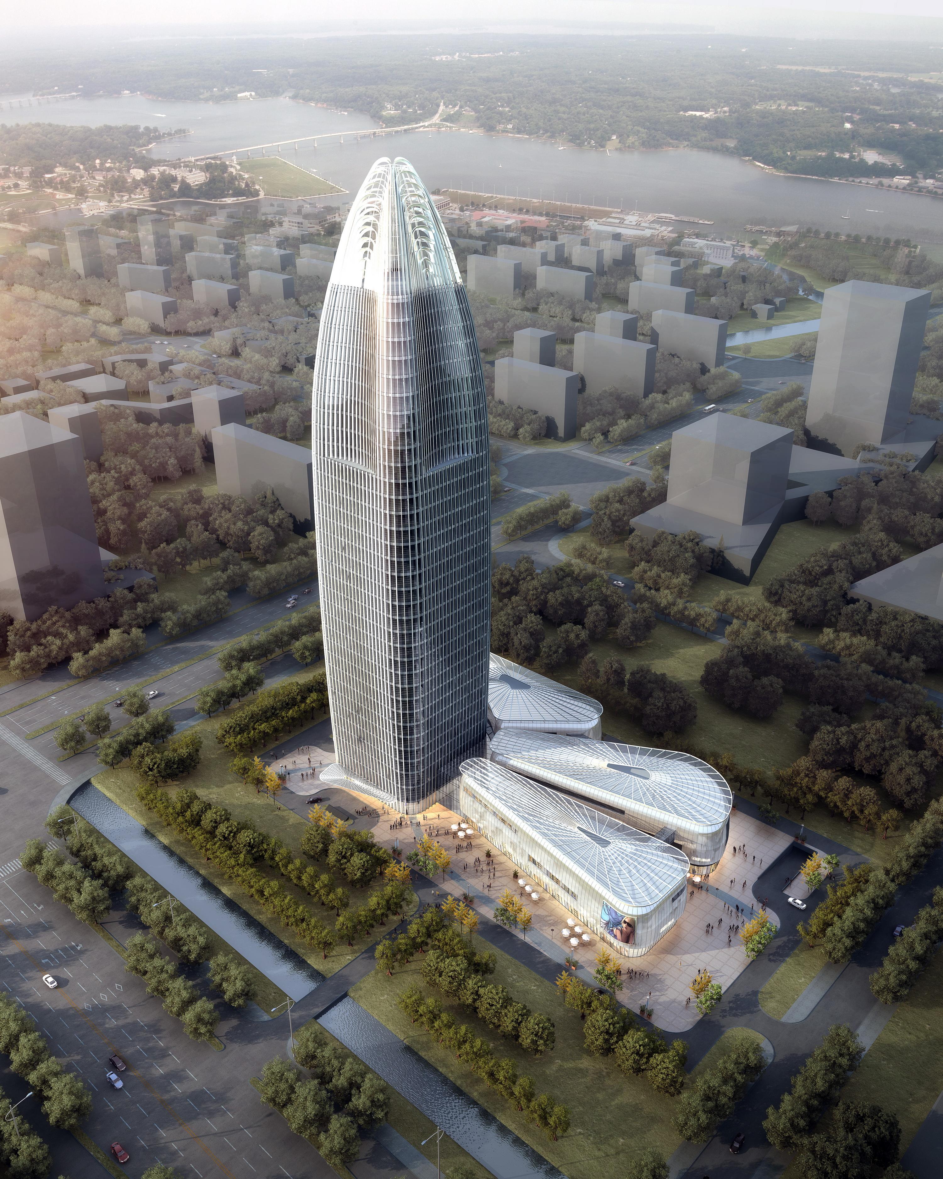 ionad gnó skyscraper 003 múnla max 3d 205827