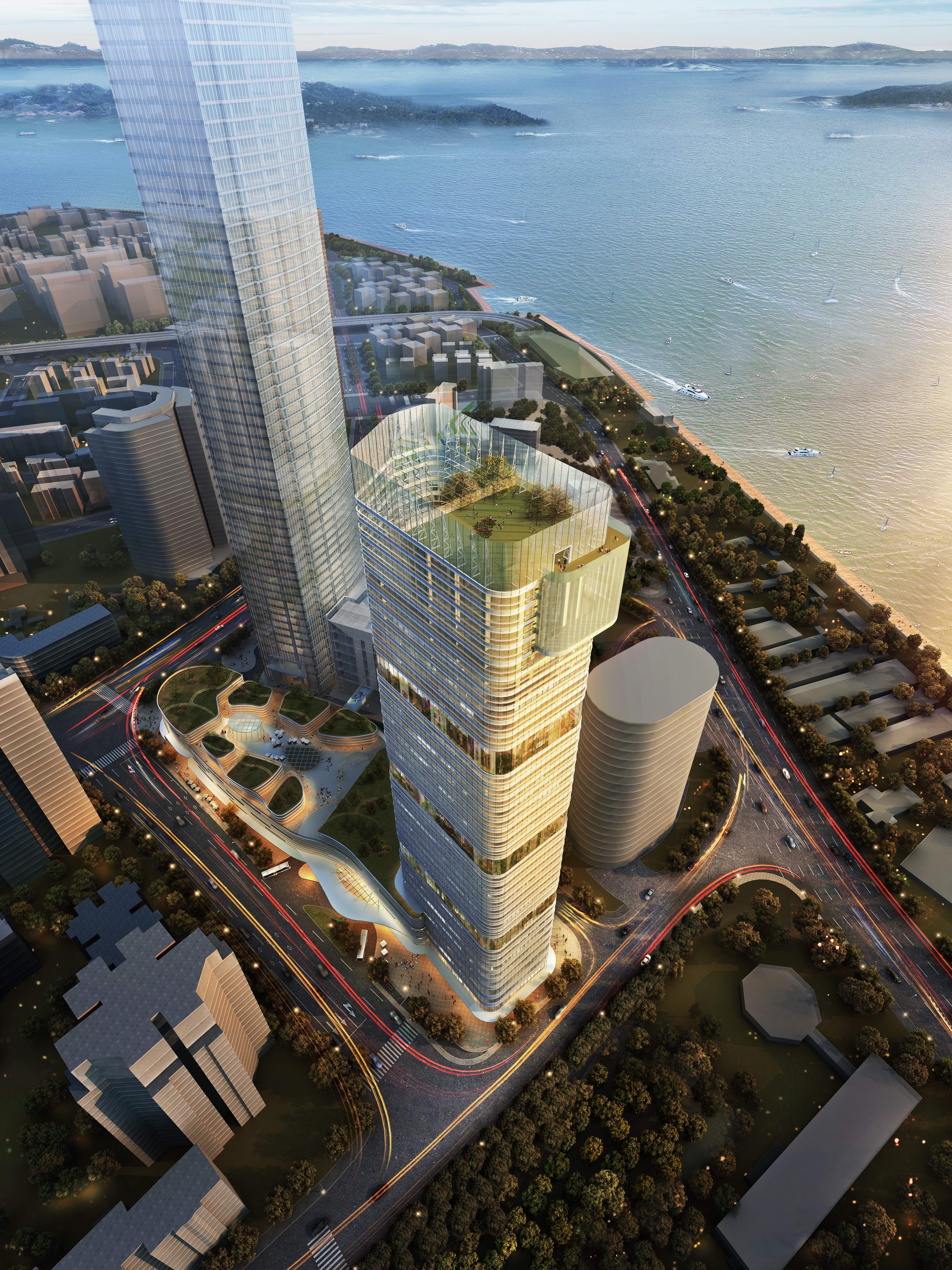 ionad gnó skyscraper 005 múnla max 3d psd 205839