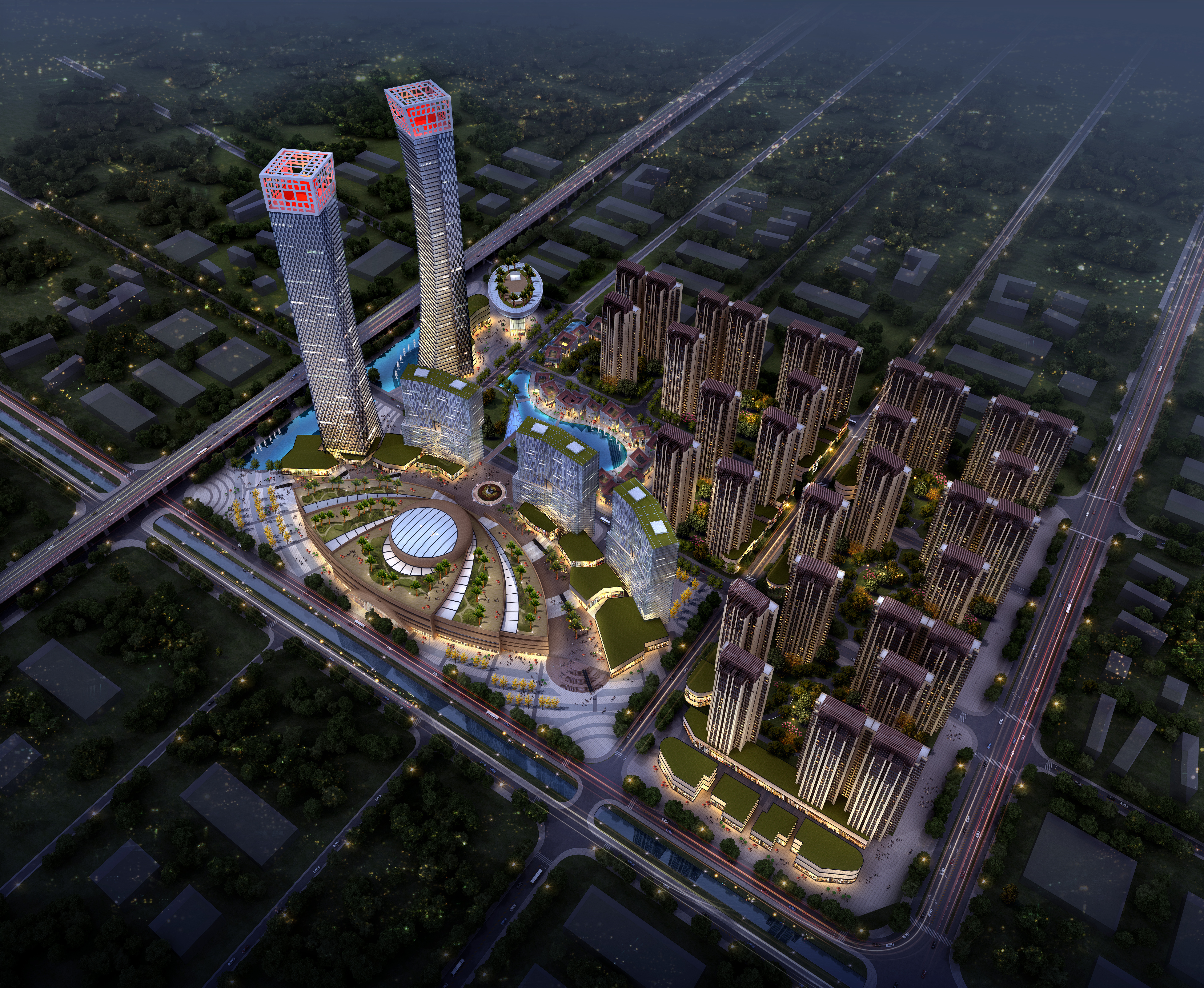 ionad gnó skyscraper 016 múnla max 3d 205911