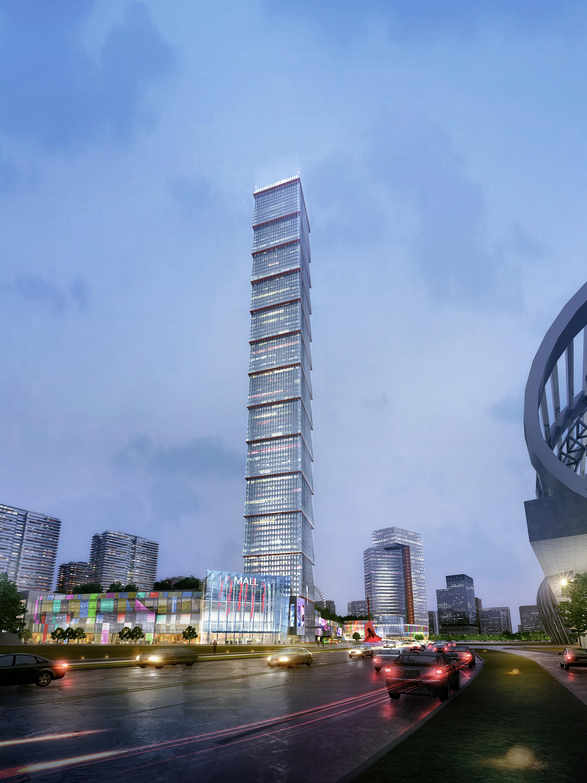 skyscraper business center 023 3d model max 205948