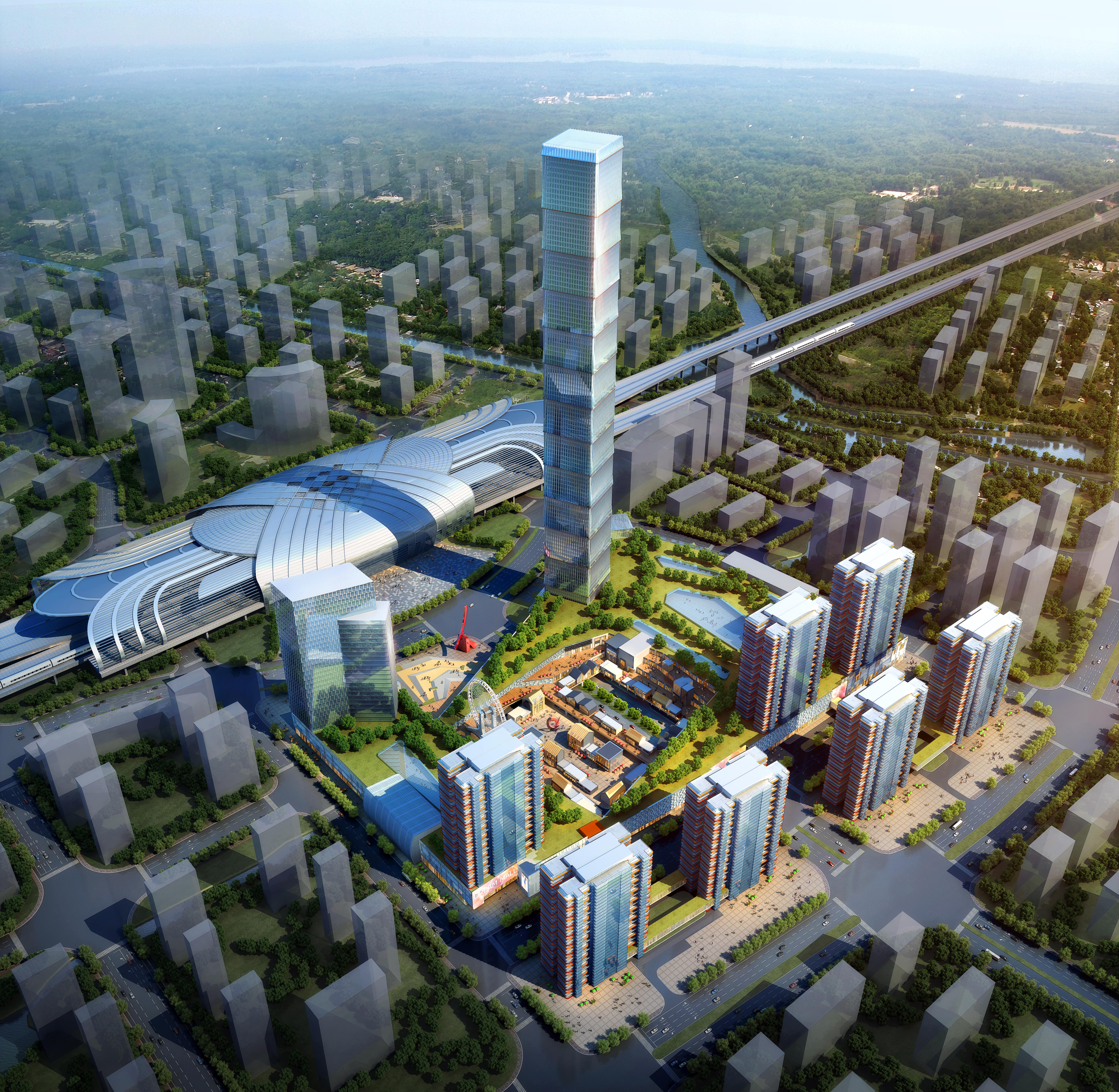 skyscraper business center 023 3d model max 205949