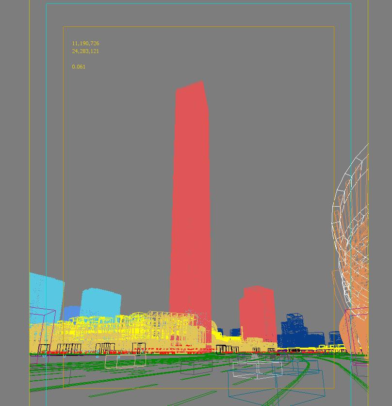 skyscraper business center 023 3d model max 205952