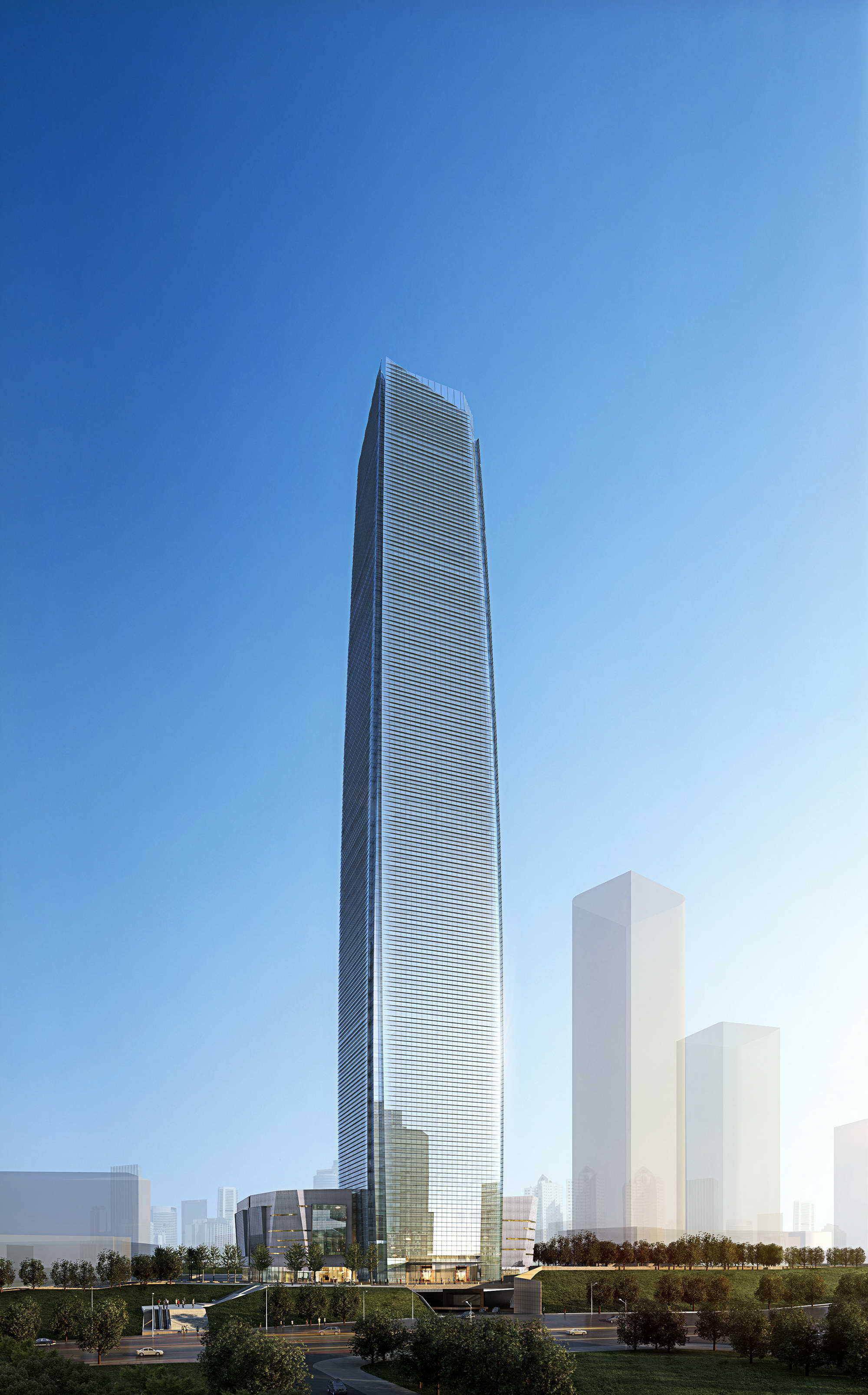 skyscraper business center 018 3d model max psd 205993