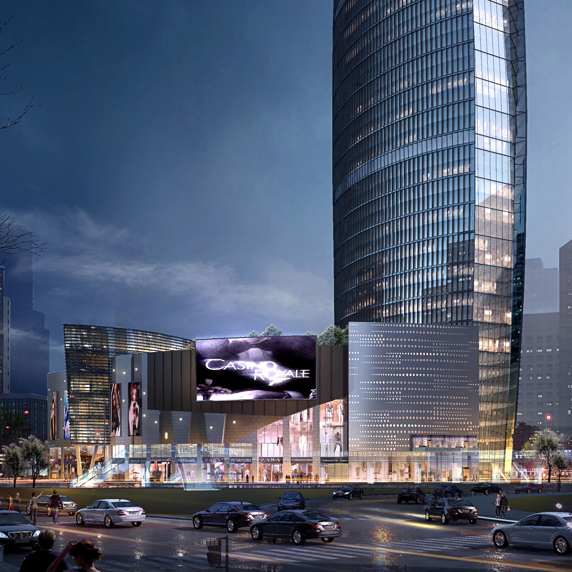 skyscraper business center 025 3d model max 206010