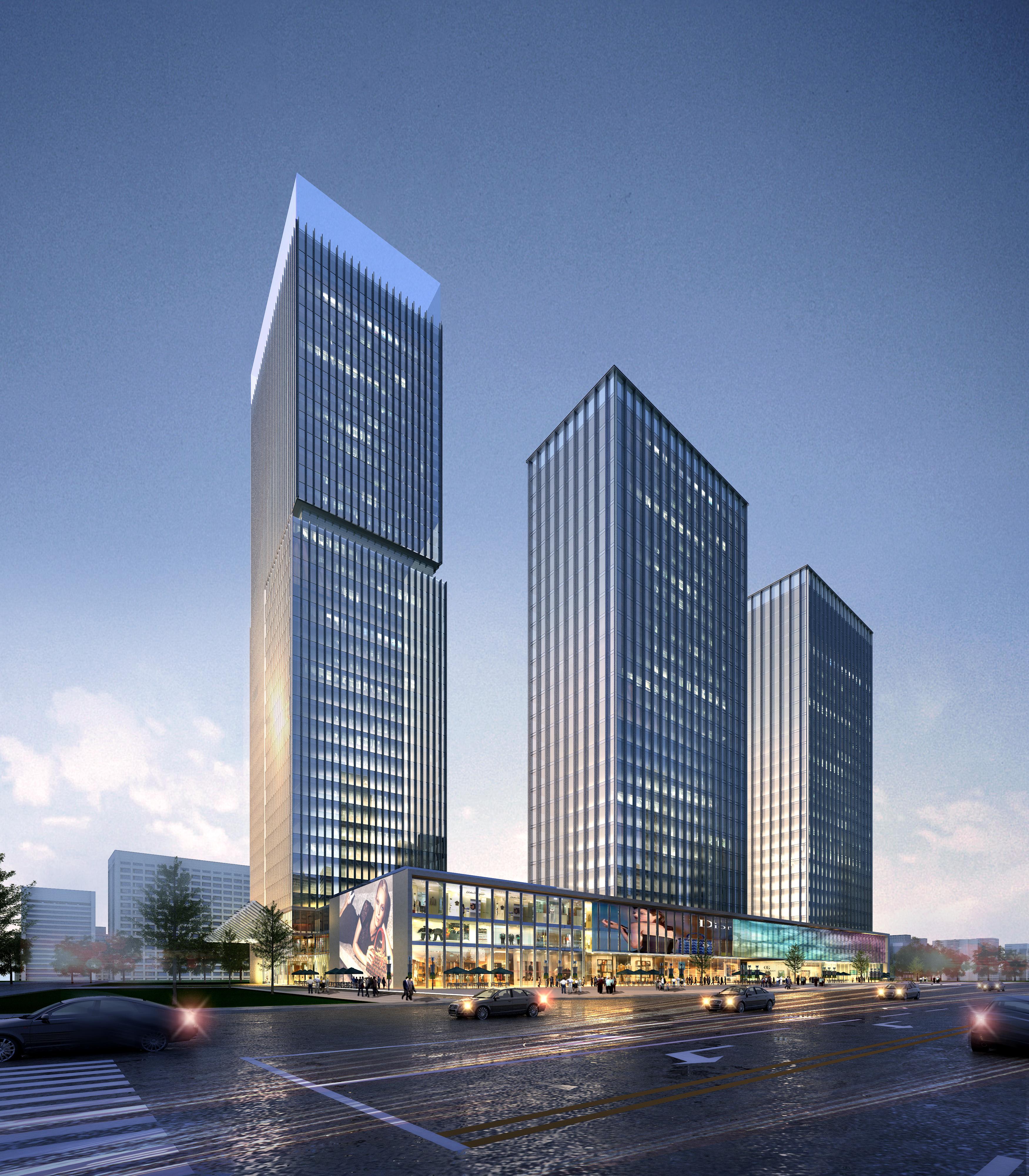 skyscraper business center 026 3d model max 206014
