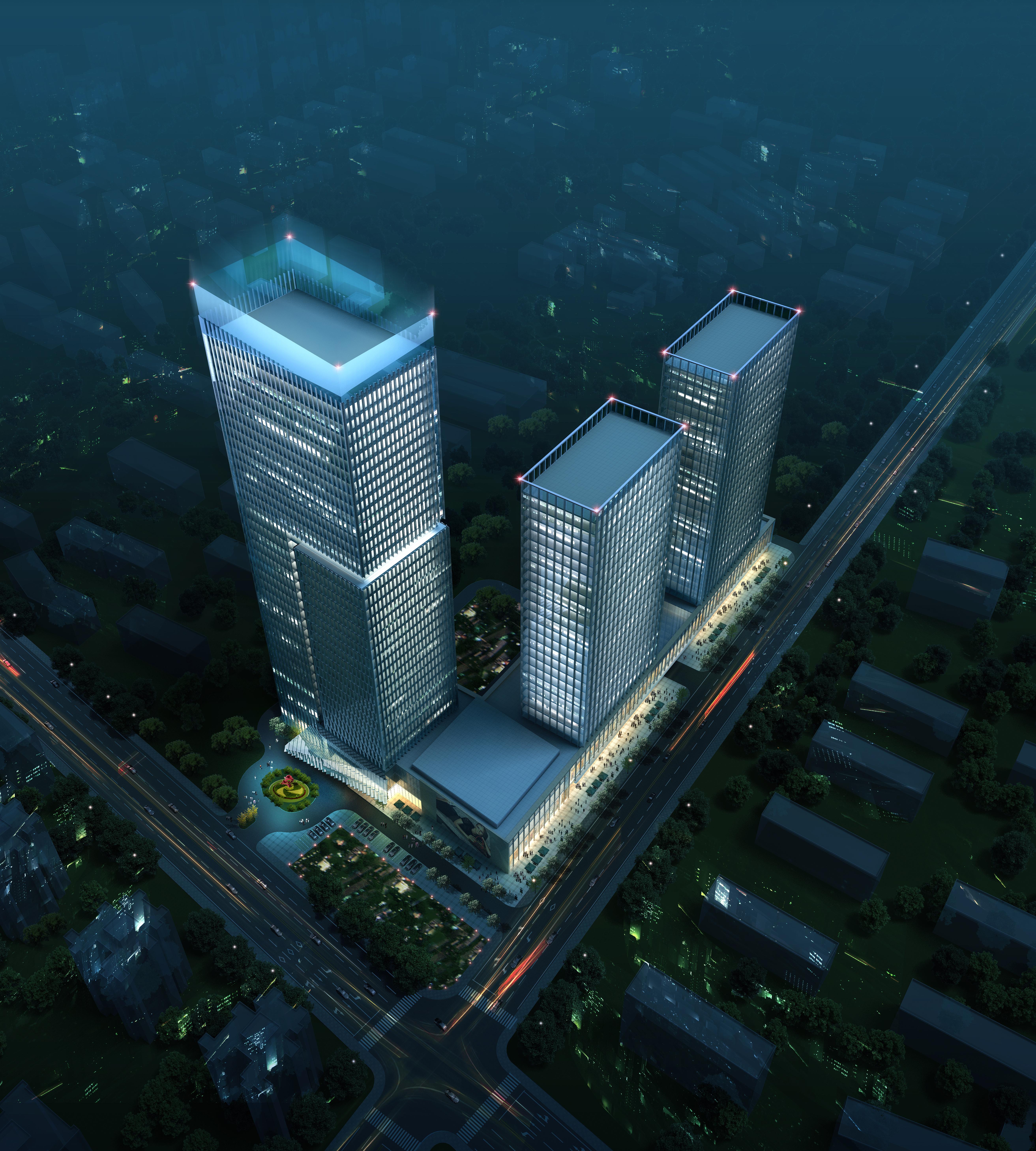 skyscraper business center 026 3d model max 206015