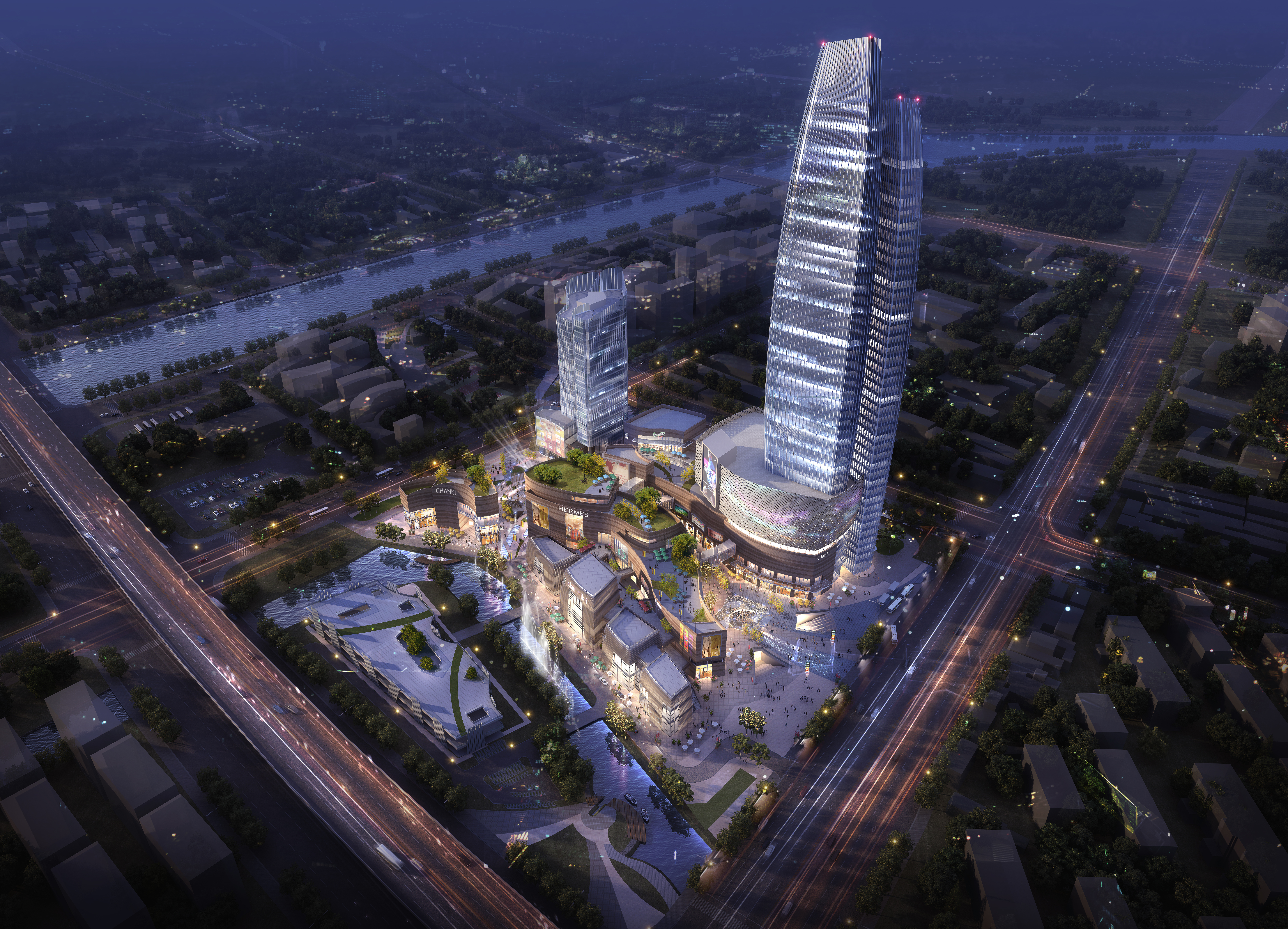 skyscraper business center 027 3d model max 206019