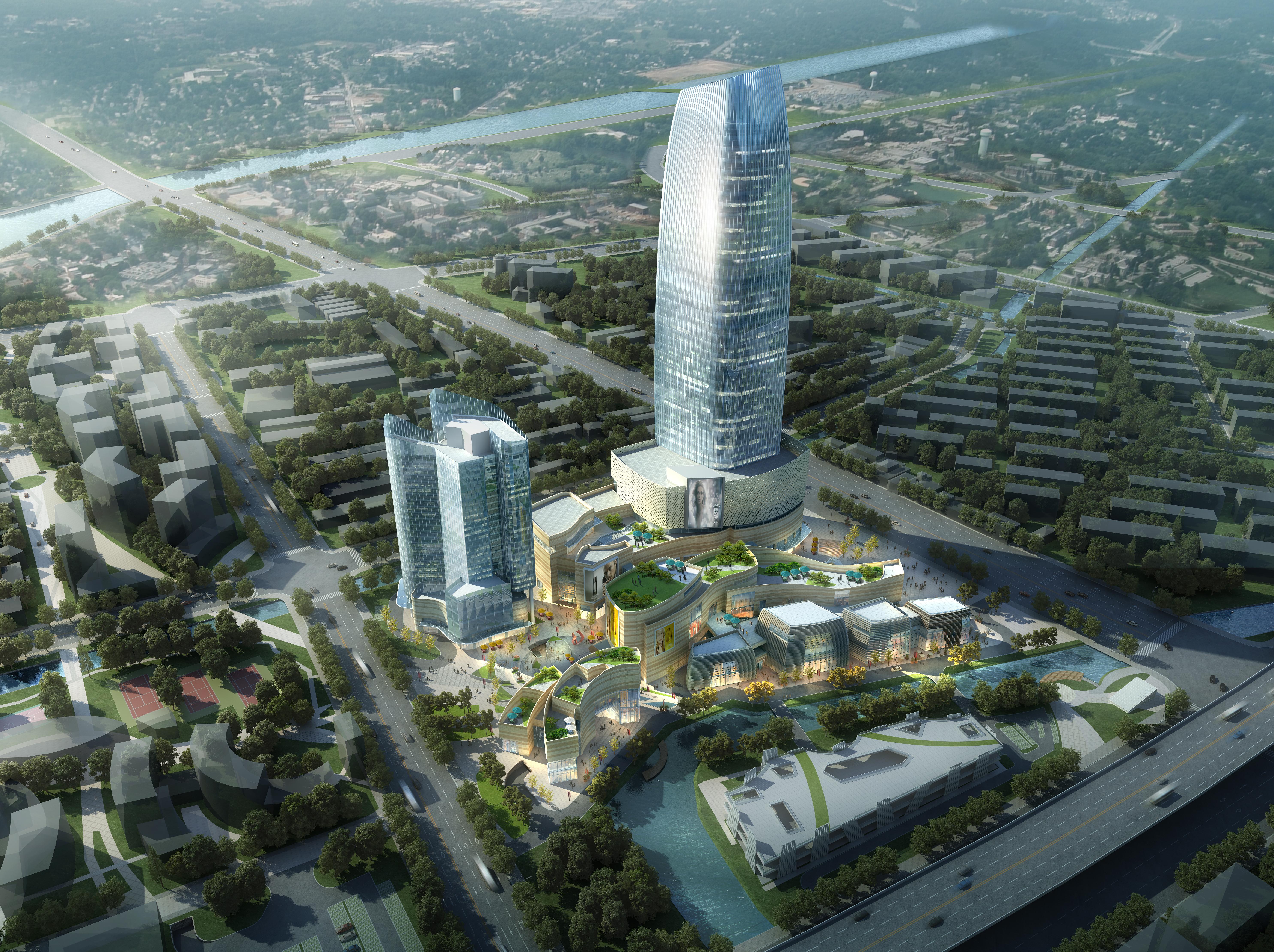 skyscraper business center 027 3d model max 206020